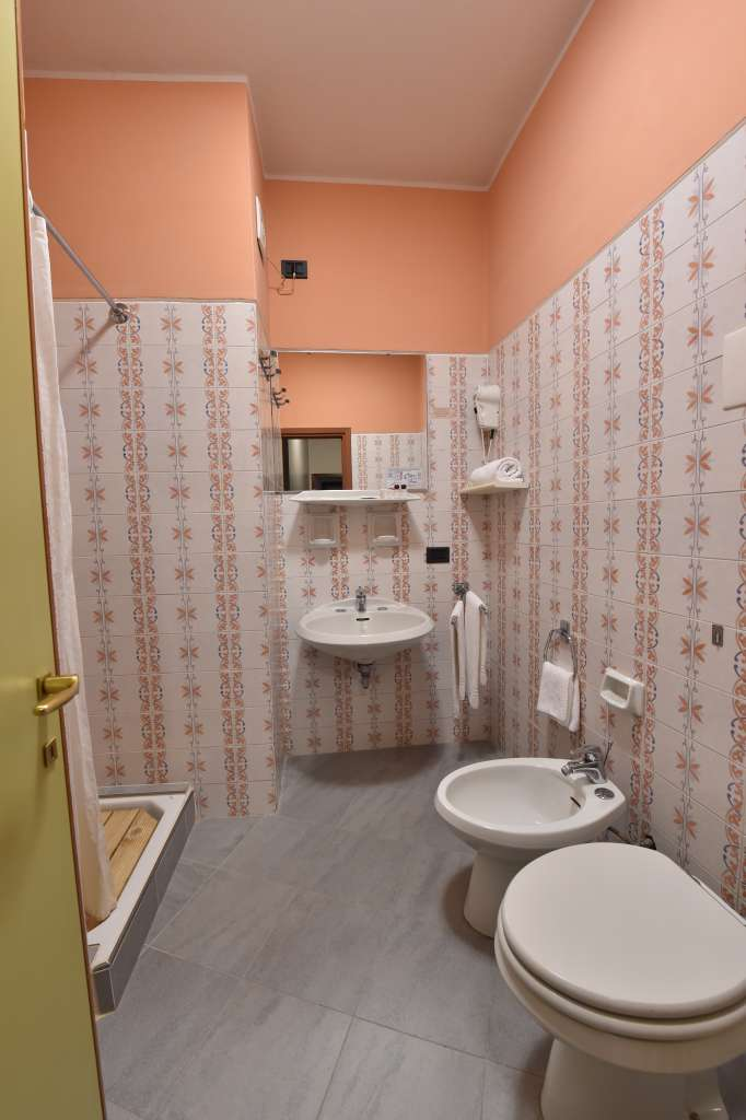 a bathroom of a twin room