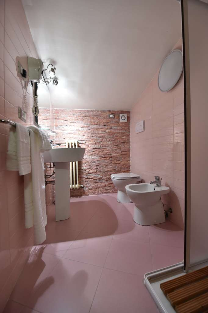 double room's bathroom